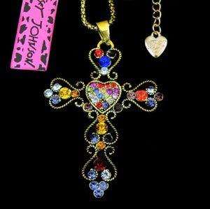 BetseyJohnson Gothic/Vintage Cross